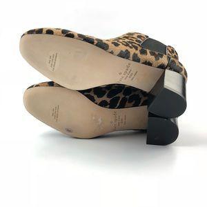 61d8f92ed79c kate spade Shoes - Kate Spade Leah Leopard Cowskin Booties NEW 9.5